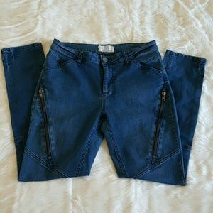 👖Free People Zipper Pocket Skinny Jeans👖